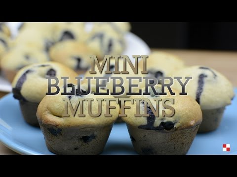Homemade Mini Blueberrry Muffins - Recipe Rack