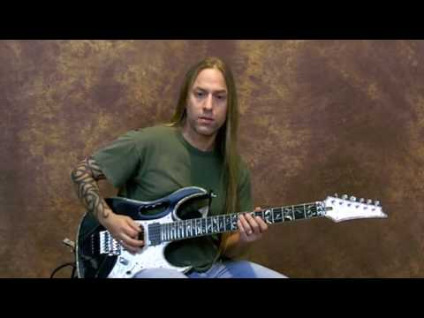 Steve Stine Guitar Lesson - Developing a Rock Solid Picking Hand