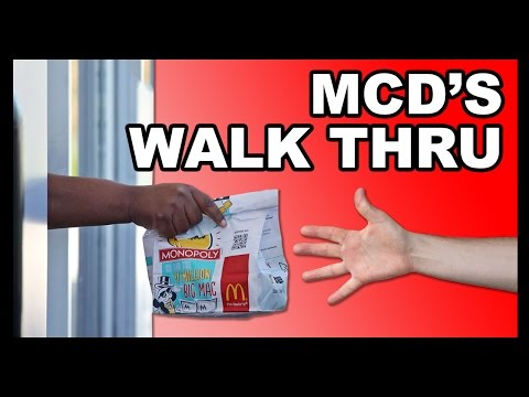 Too McDrunk to Drive-Thru? Your Problems Are Finally Solved! - Food Feeder