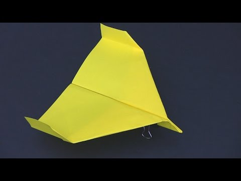 How to Make a Paper Airplane that Flies Far - Best Paper Planes in the World - Stealth Glider