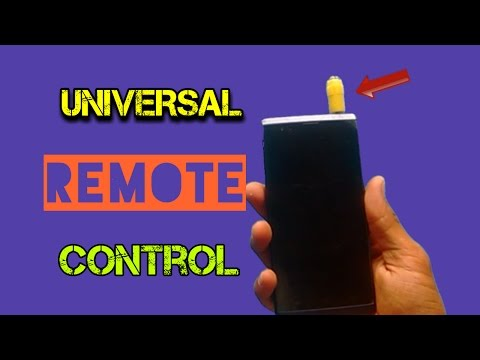 How to Make a Universal Remote Control at Home using Smartphone