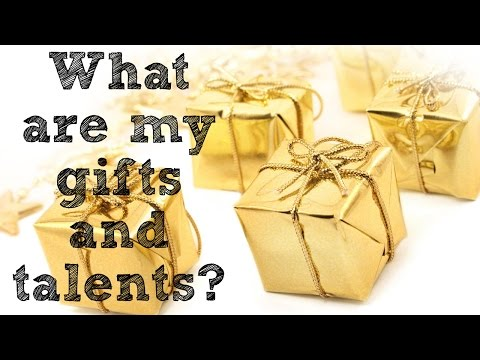 WHAT ARE MY GIFTS AND TALENTS? Christian chat video with Joe and Ellie part 1.