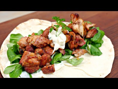 Shawarma & Garlic Sauce !!  - Best home made shoarma you will ever eat!
