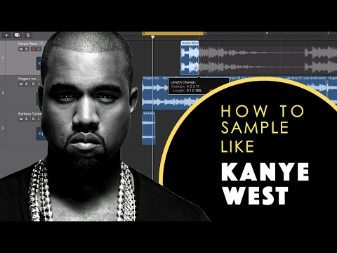 How to sample like Kanye West