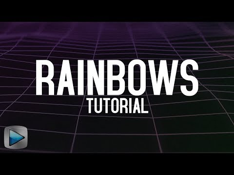 Sony Vegas tutorial: MLG Rainbows