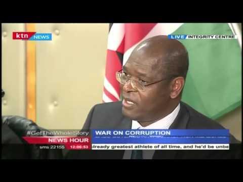 WAR ON CORRUPTION; EACC outlines anti corruption measures