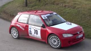 Rallye Charlemagne 2016 SHOW Mistake Crashes & Close Calls