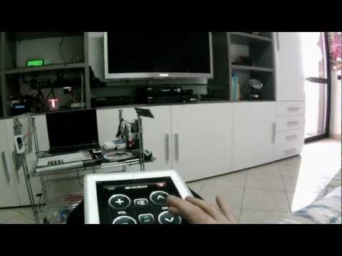 REMOTE CONTROL 3D SAMSUNG TV WITH IPAD
