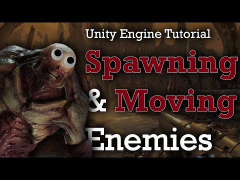 Spawning & Moving Enemies | Unity FPS Tutorial Part 3