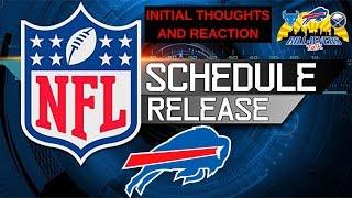 Buffalo Bills 2019 NFL Schedule