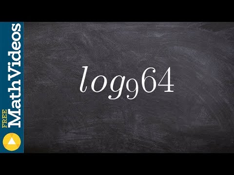 Pre-Calculus - How to rewrite a logarithm using the change of base formula, log9 (64)