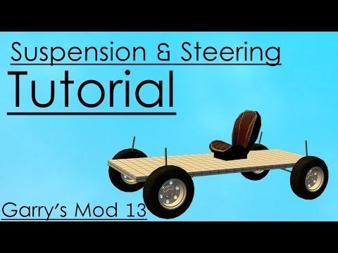 [GMod 13] Suspension & Steering Tutorial - Simple