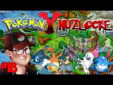 Pokemon Y Nuzlocke - Lumiose City Gym - Episode 18!
