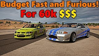 Forza Horizon 3 | Budget FAST And FURIOUS for less than 60k!? TC and JeepGuy