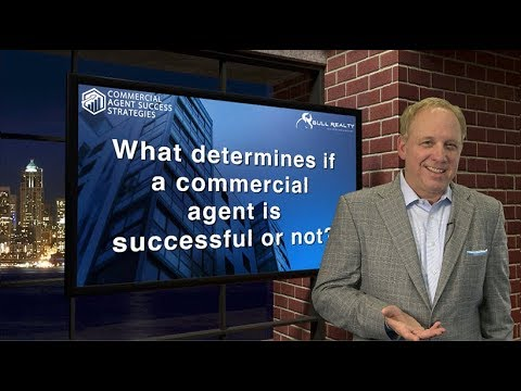 What determines if a commercial agent is successful or not?