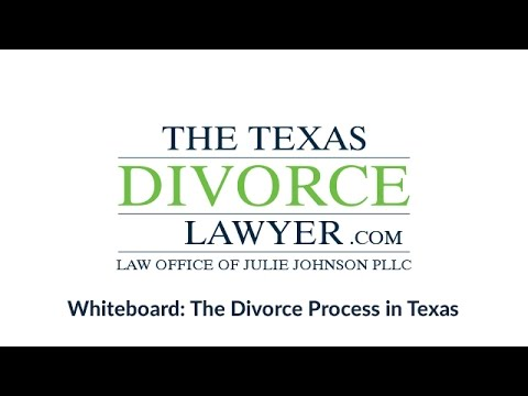The Texas Divorce Lawyer: The Divorce Process in Texas