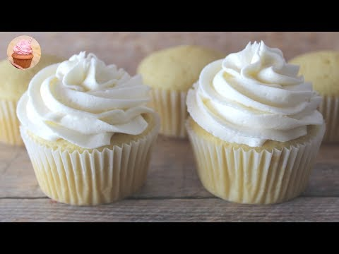 How To Make Vanilla Cupcakes | Perfect Vanilla Cupcake Recipe | Vanilla Cupcakes From Scratch