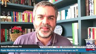 Andreazza fala sobre as acusações feitas por Paulo Marinho e que podem atingir Flávio Bolsonaro