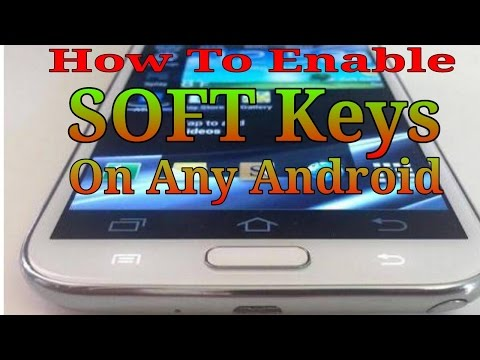How To Enable Soft Keys On any Android Mobile Without Coding || Back Button ,Home,Option ||