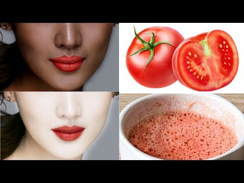 Magical Skin Whitening Tomato Bleach | Skin Whitening In Just 15 Minutes | 100% Effective