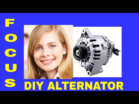 How To Replace A Ford Focus Alternator, Fuse and Fusible Link
