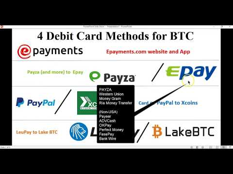 4 (secret) ways to buy BTC Bitcoin with debit / credit card your bank won't notice