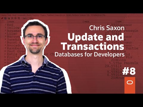 Update and Transactions: Databases for Developers #8