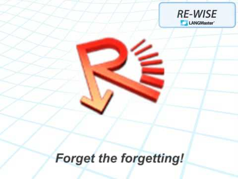 RE-WISE learning software for learning foreign languages