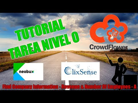 [Tutorial tarea Crowdflower - Nivel 0] Find Company Information - Revenue & Number Of Employees - A