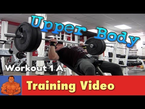 My New Workout - Upper / Lower Body Rotational Split Routine - Workout 1A