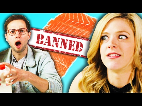 Americans Try Banned Foods From Other