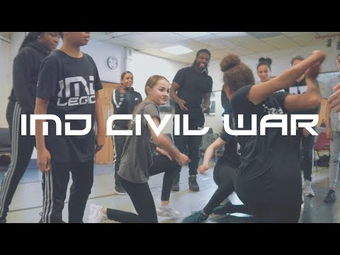 IMD CIVIL WAR S2 E5  ( DANCE BATTLE )