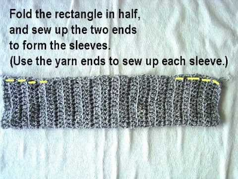 HOW TO CROCHET A BEGINNER SHRUG, free crochet pattern, summer shrug, video tutorial