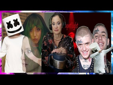 MOM REACTS TO LIL PEEP X MARSHMELLO - SPOTLIGHT (OFFICIAL MUSIC VIDEO)