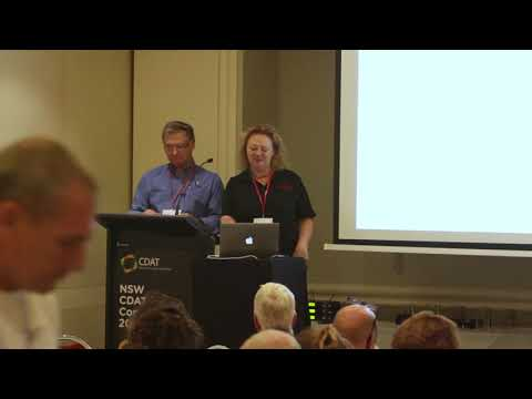 Fiona Morrison : Tony Ross - Workshop - CDAT Conference 2018 - Newcastle