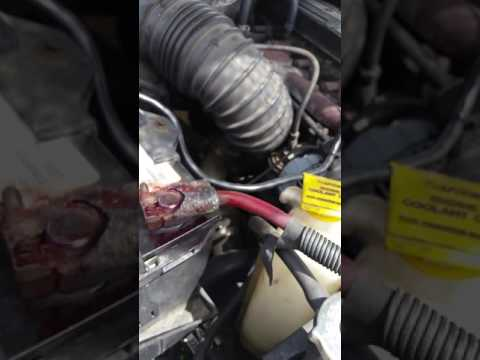 2001 Dodge Ram 2500 Cummins battery cable replacement