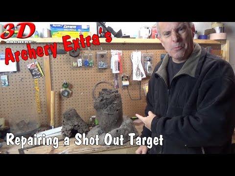3D Archery - Re-making a Woodchuck Target