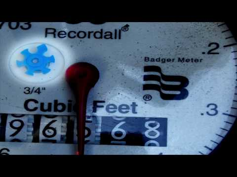 How to Read Your New Digital Water Meter/Register