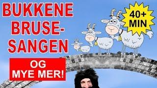 Barnesanger på norsk - Bukkene Bruse og mye mer   40+ min.