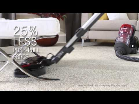 Panasonic Plush Pro Bagless Canister Vacuum - MC-CL945