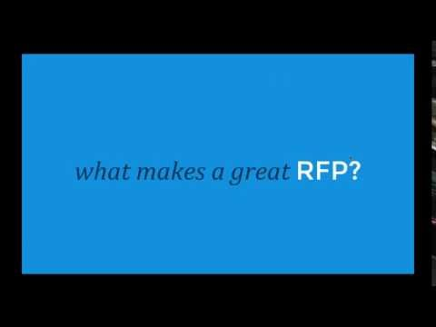 The RFP Dating Game