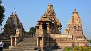 KHAJURAHO LOVE TEMPLES: EROTIC ANCIENT INDIAN SCULPTURES (4K)