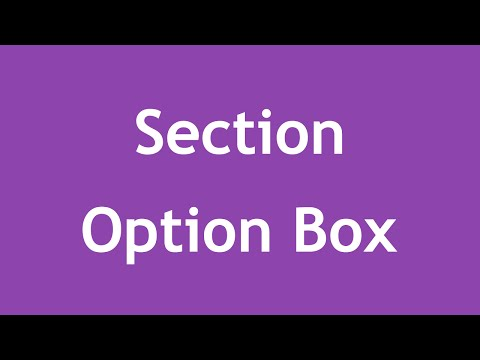 [ Twitter Bootstrap 3 In Arabic ] #36 - Section Option Box