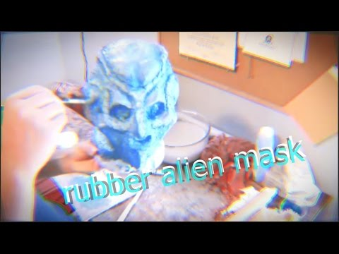 how to make a rubber alien mask... without any prior experience 😅