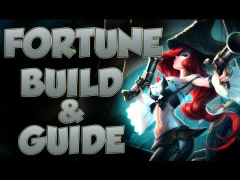 League of Legends - Miss Fortune Build - with Commentary