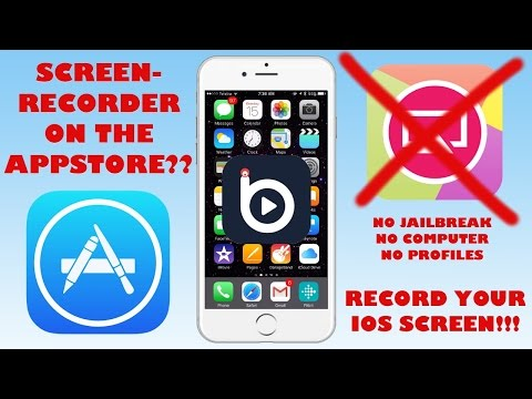 SCREEN-RECORDER ON THE APPSTORE??? | iOS 9+ Screen Recorder Tutorial | NO JAILBREAK NO COMPUTER