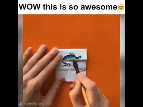 How to make awesome thing from paper