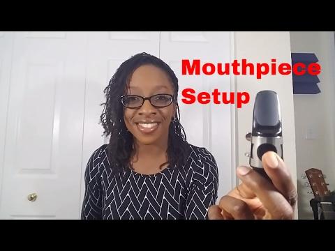 Alto Sax Mouthpiece Setup