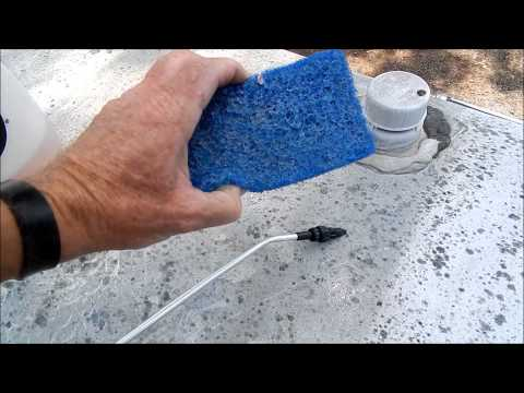 RV Detailing Tips: How to clean the roof on your RV