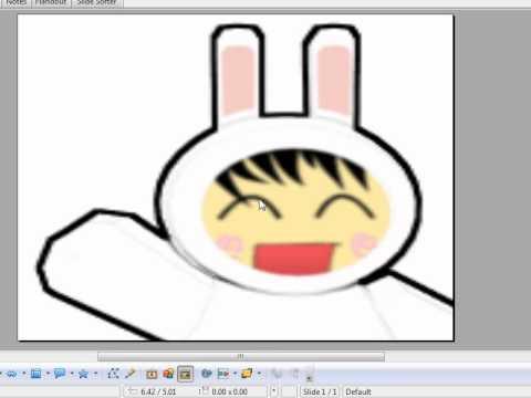 How to change OpenOffice Impress Slide background to Custom Image